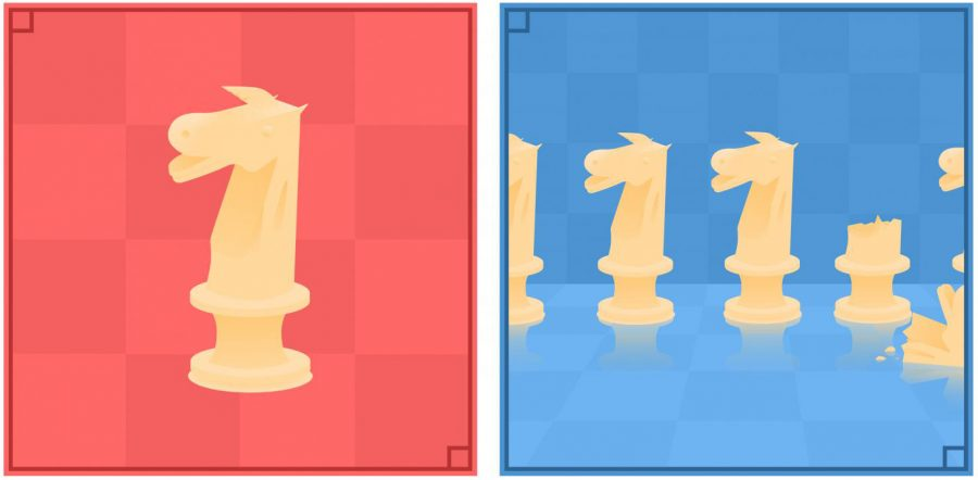 Knight Diptych, Graphics and Design
