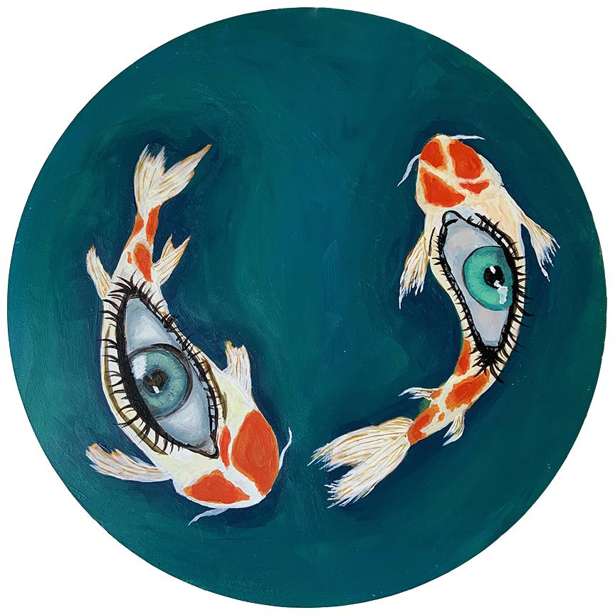 FishEye, Painting