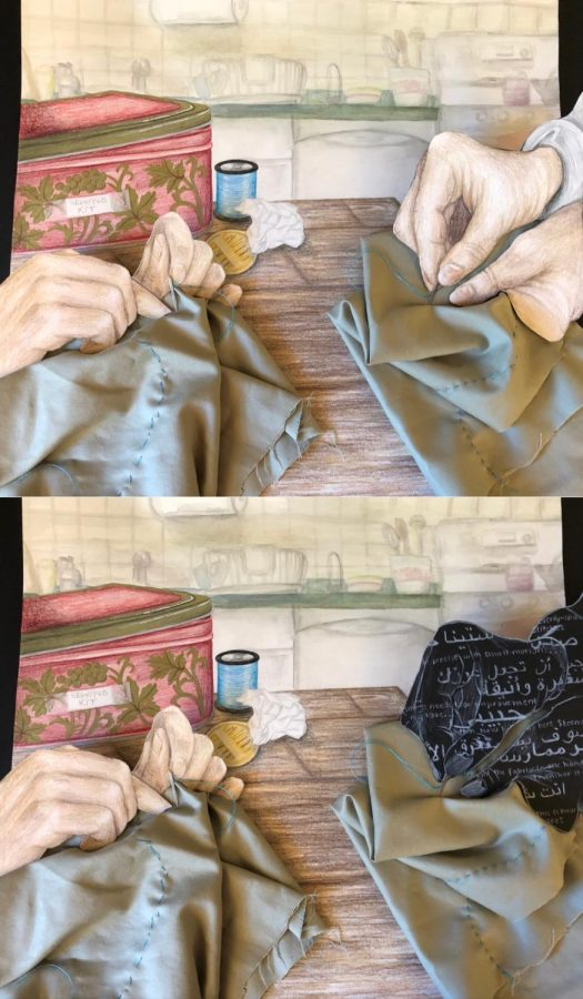 Sewing with Teita, Mixed Media